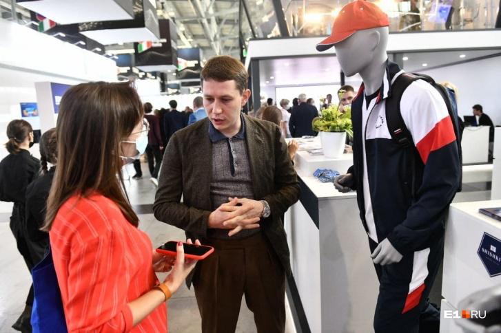 Модельер из Екатеринбурга начнет продавать спортивные костюмы «команды Путина» в аэропортах