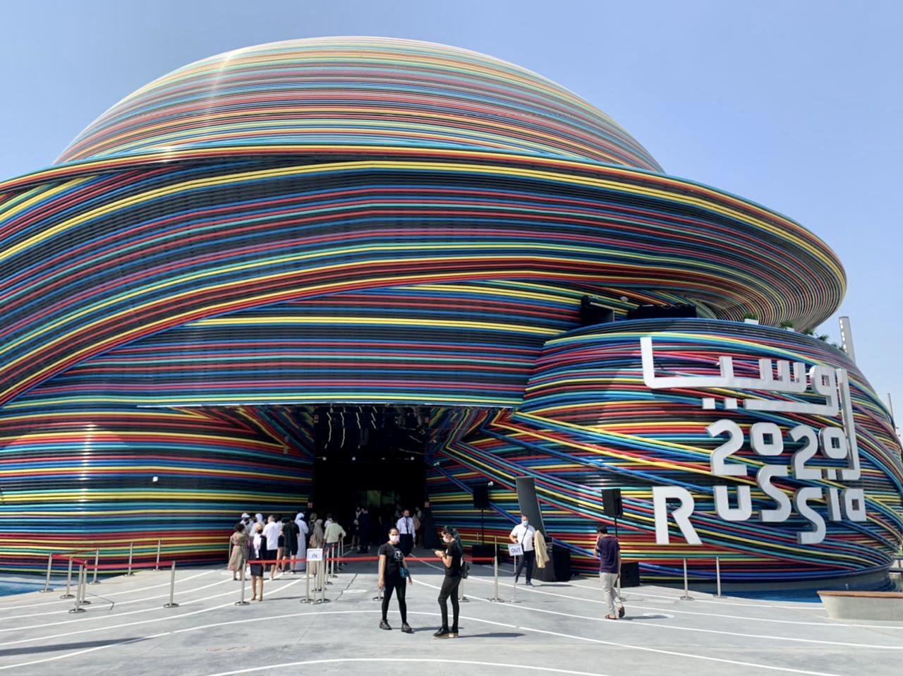Креативные и модные: российский павильон  Всемирной выставки EXPO-2020 Dubai покажет Putin Team Russia