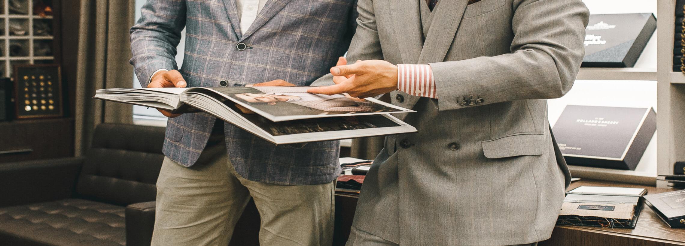 Элитная одежда высокого качества, созданная по технологии Bespoke Tailoring